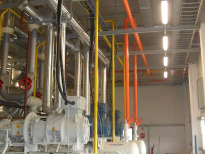Maszynownia chłodnicza NH3 -GPOIW NATURA Dobrzyń nadWisłą